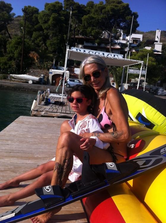 Κατερίνα Τερζοπούλου, Ελμίνα Κατσαρού στο Passage...