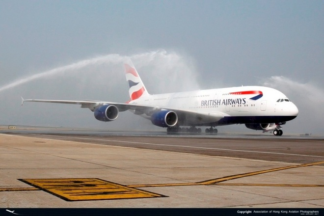 Water Cannon Salute!