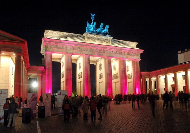 Berlin, Brandenburger Tor Gate...