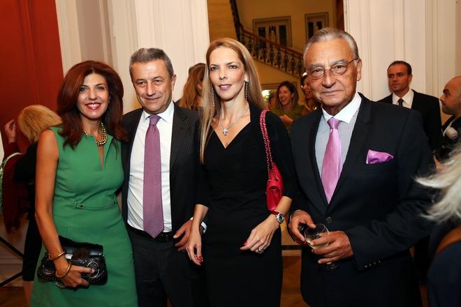 Άννα και Γιώργος Κούμπας, Ασπασία Λεβέντη, Μάκης Μάτσας