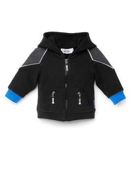 Baby Dior, reversible padded jacket with hood