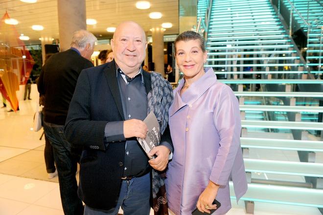 Ο διεθνούς φήμης εικαστικός με την Μαριλένα Β. Καρρά