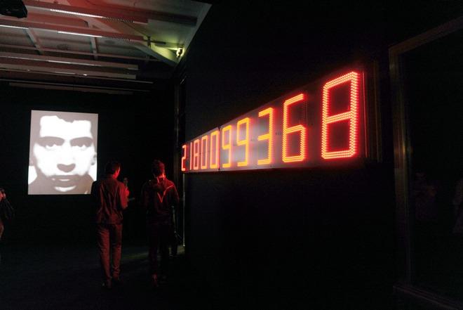 """Christian Boltanski """"ÂëÝììáôá"""" / ÅÃÊÁÉÍÉÁ ÅÊÈÅÓÇÓ - ÓÔÅÃÇ ÃÑÁÌÌÁÔÙÍ ÔÅ×ÍÙÍ ÉÄÑÕÌÁÔÏÓ ÙÍÁÓÇ"""