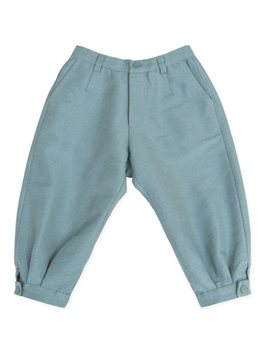 ...Popecha, cotton blend blue trousers...