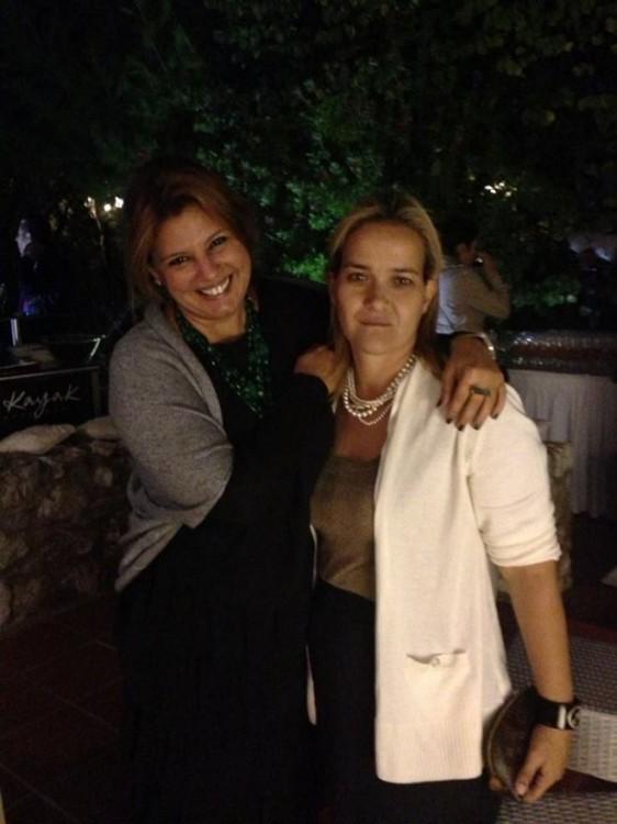Με την Ρίτα Πικρού-Μωραϊτάκη