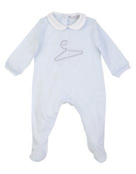 """Tilltwelve baby boy blue """"Happy Hanger"""" Pyjama"""