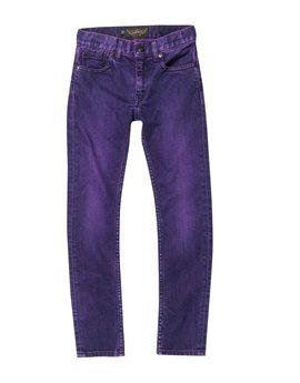 Girls Punk Pink Denim Jeans