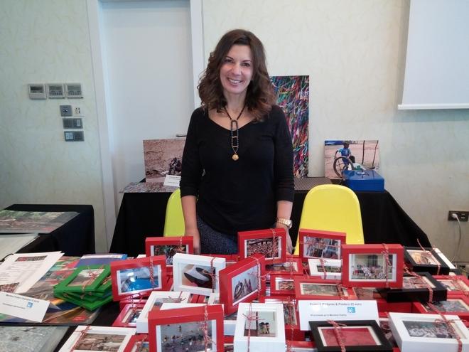 H Ηρώ Παγώνα διέθεσε όλα τα έσοδα των πωλήσεων των φωτογραφικών της έργων για τις ανάγκες του Δεσμού