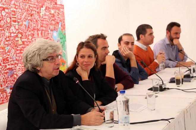Το βιβλίο παρουσίασαν ο Τάκης Θεοδωρόπουλος, η Ξένια Κουναλάκη, ο Ντένης Ηλιάδης, ο Θανάσης Αλευράς, και ο Μιχάλης Μουλάκης