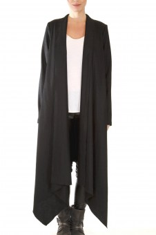 Long Asymmetric Coat