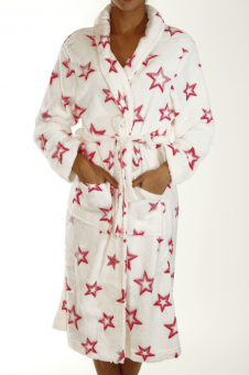 Την λατρεύω!!!! Super soft Fleece Night Gown Stars! by Nadia...