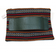 Tataahh!!!! Ethnic Fabric Clutch by Mimika Cibuyianni...