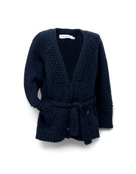 Baby Dior, Girls Blue Alpaca Knit Belted Cardigan...Το δώρο της Tooth Fairy στην Ελμίνα, σήμερα το πρωί!
