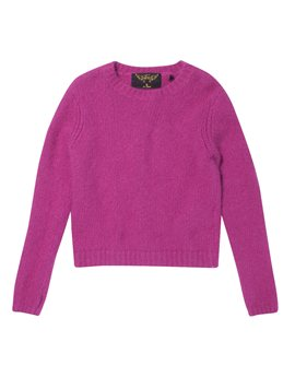 Finger in the Nose, Girls Punk Pink Angora Sweater