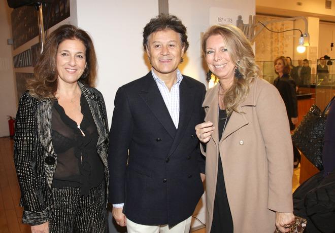 Μάγδα Μπαλτογιάννη, Massimo Listri, Ζέτα Αντσακλή
