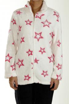 Soft Fleece Jacket Stars