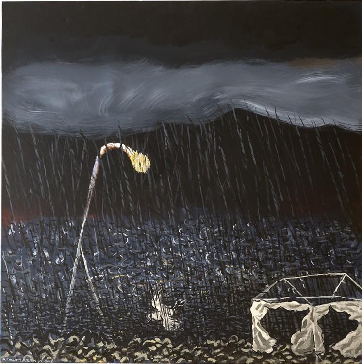 """Βρήκα την """"Βροχή"""" του Μαντζαβίνου! Δεν θα ξεχάσω ποτέ τα μάτια της Ελμίνας όταν τον πρωτο αντίκρυσε παρουσία του καλλιτέχνη, στη Γκαλερί """"Citronne"""", στον Πόρο...Ευλογημένη στιγμή...30 αριθμημένα και υπογεγραμμένα από τoν ζωγράφο αντίγραφα."""