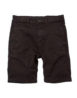 Boys Black Shadow Chino Bermuda Shorts