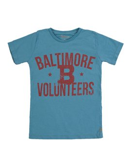 Boys Vintage Baltimore Cotton T-Shirt