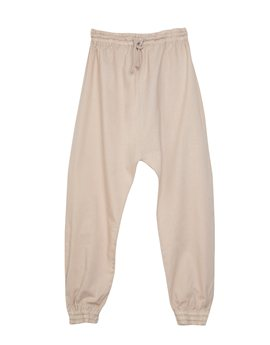...Girls Cotton Baggy Toasted Trousers!