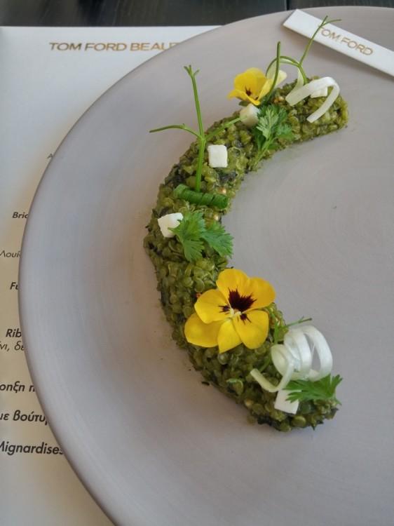 Σπανακοκινόα...Εδώδιμα άνθη...