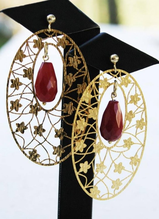Gabbs Ruby Earrings