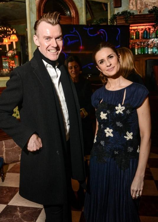 O Fashion Director  του Neiman Marcus, Ken Downing με την Livia Firth