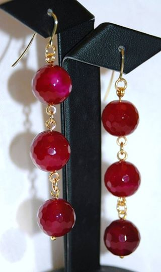 Olinda Ruby Earrings