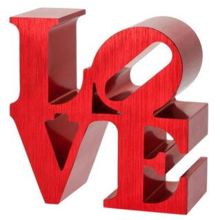 Mini Love Robert Indiana, Sculpture