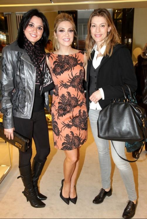 Η Γιώτα Τριγώνη, η Μαρία Βατοπούλου και η Ζέτα Δούκα με υπέροχα brogues!