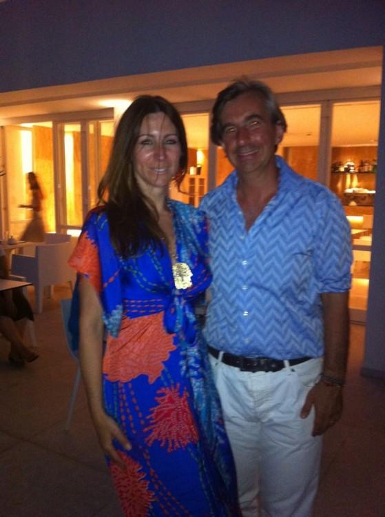 Ο Δημήτρης και η Μελίνα στο αγαπημένο τους νησί, στην Πάτμο. Καλοκαίρι 2012...