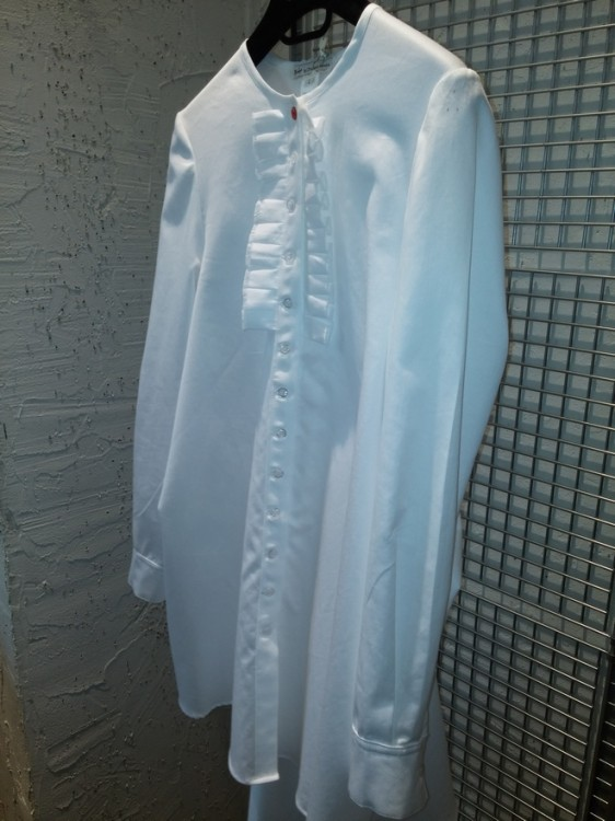 white shirt tuxedo
