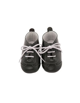 Soft Leather Lace Up Bootees