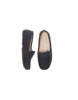 Suede Leather Boys Moccasin Shoes