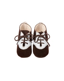 Baby Boys Soft Suede Lace Up Shoes