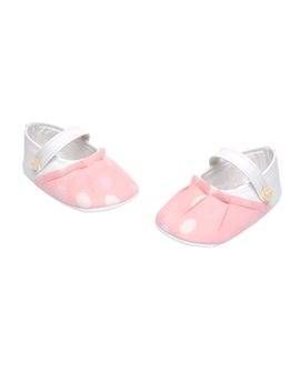 Baby Girl Soft Shoes with Dot Print