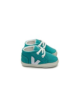 Baby Patinho Canvas Lace Up Sneakers