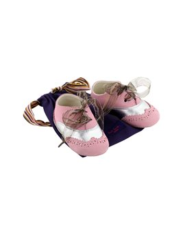 Baby Girls Pink Soft Leather Shoes