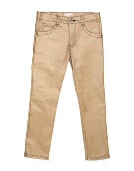 Girls Gold Skinny Fit Jean