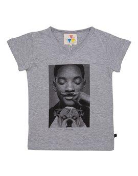 Unisex Grey 'Will Smith' T-Shirt