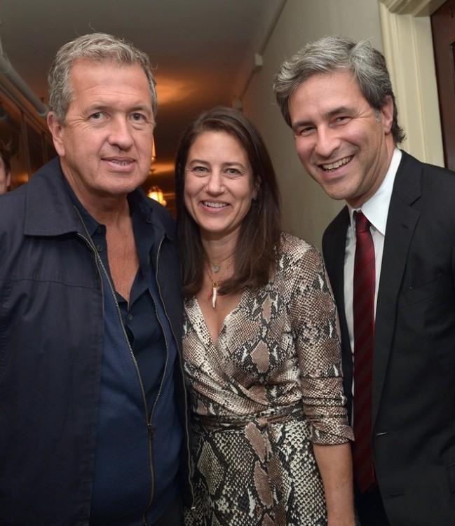 Mario Testino, Katherine Ross, Michael Govan