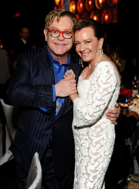 Elton John, Caroline Scheufele