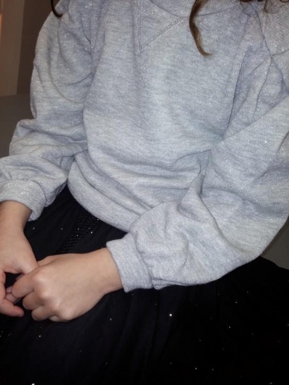 Lurex Sweatshirt