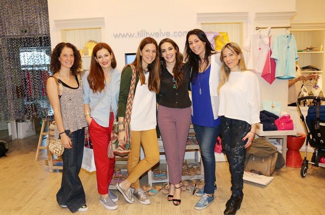 Μελίνα Πίσπα, Έλλη Ρούντου, Εβελίνα Πετράκη, Εριέττα Τοσίδη, Ειρήνη Βεργίτση, Ιωάννα Χριστοπούλου
