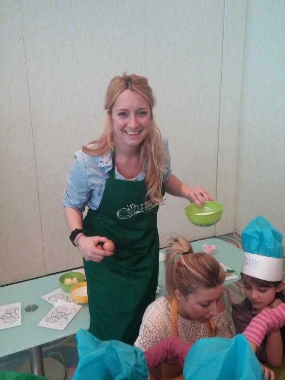 Η Πολίνα Παπαϊωαννίδη του Whisk, η καλύτερη για να αναλάβει μαθήματα μαγειρικής σε παιδικά πάρτι!
