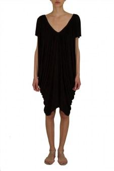 Short deep V-neck Dress