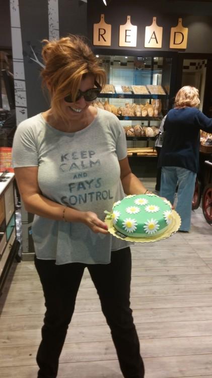 Λενάκι, αυτή τηνν τούρτα με την εκπληκτική ζαχαρόκρεμα, την διάλεξα για εσένα!