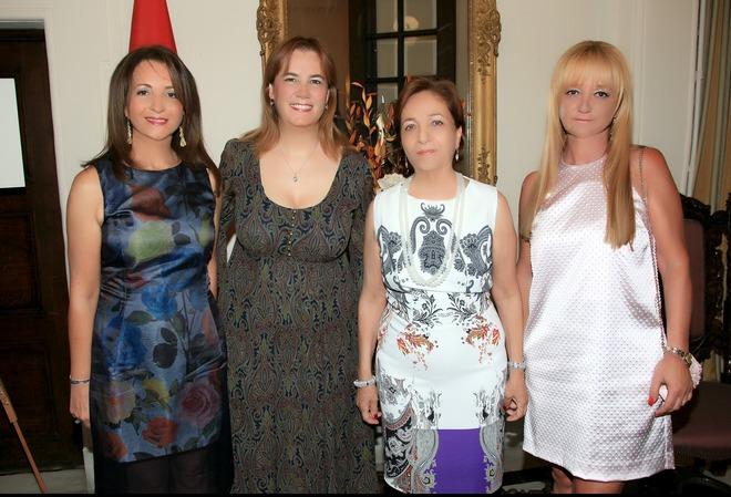 Βάνα Λαβίδα, Ζέινεπ Ουρας, Καίτη Δαυϊδ, Ελένη Βάρελη