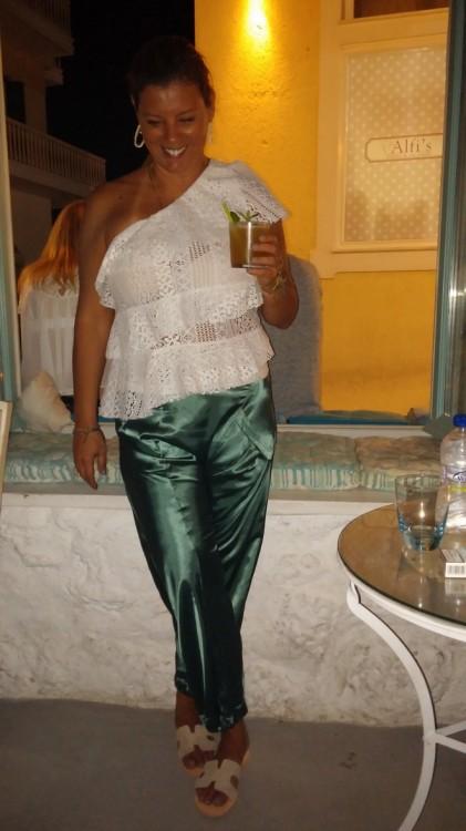 Cotton Silk Pants