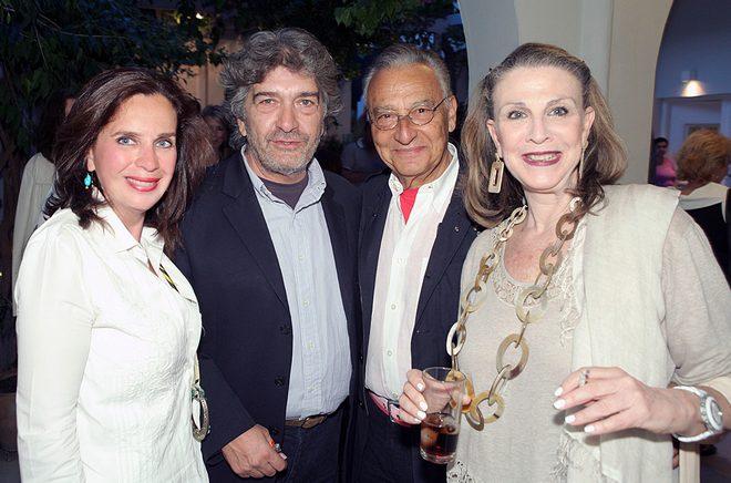 Τατιάνα Σπινάρη-Πολλάλη, Κώστας Βαρώτσος, Μάκης και Ρούλα Μάτσα